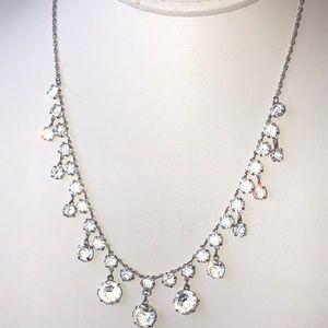"Jewelry - Antique Art Deco open back 12k gf necklace 16"""